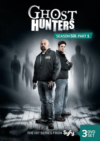 Ghost Hunters Season 6 Part 1 Collector's DVD Set
