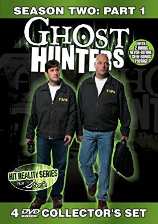 Ghost Hunters Season 2 Part 1 Collector's DVD Set