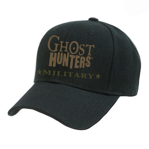 Military Ghost Hunters Embroidered Hat