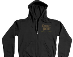 MILITARY | Ghost Hunters Embroidered Logo | Adult Zipper Hoodie Jacket