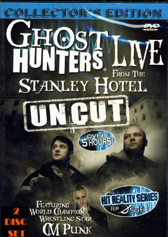 Ghost Hunters Live From the Stanley Hotel UNCUT Collector