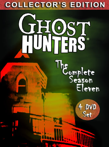 Ghost Hunters Complete Season 11 Collector's Edition DVD Set