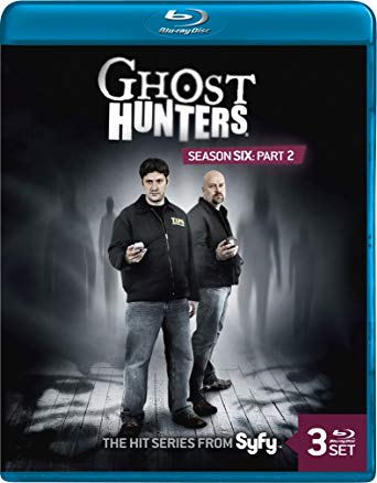 Ghost Hunters Season 6 Part 2 Collector's DVD Set Blu-Ray Edition