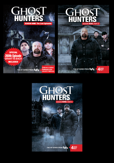 "BUNDLE | Season 9 Part 1+ Part 2 + Part 3 ""The Lost Episodes"" DVD"