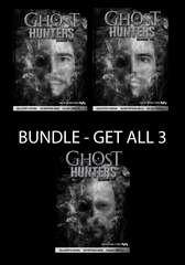 Ghost Hunters Complete Season 10 DVD Set with a FREE 4x6 3D Flip Postcard of Jason, Steve or Dave. Collect ALL 3 Covers and ALL 3D Collectors Postcard