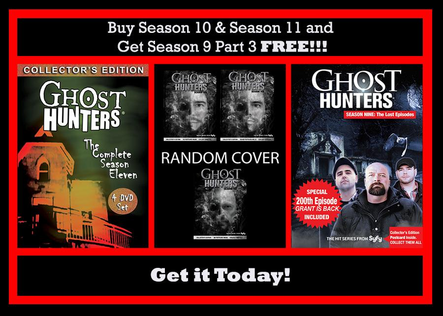 Ghost Hunters Season 10 DVD