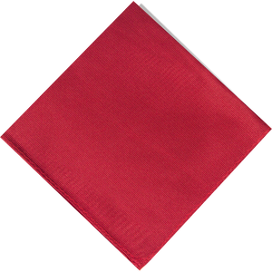 Pocket Square - Red - Argoz