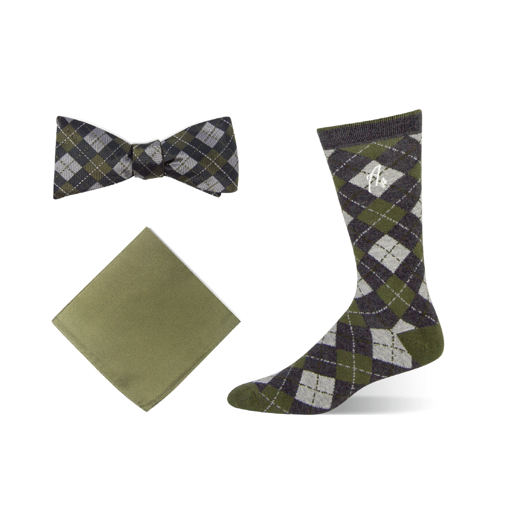 Bow Tie Set - Dirty Martini - Argoz
