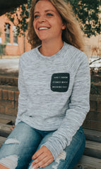 Can't Throw Stones Pullover
