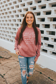 Arise With Boldness Pullover