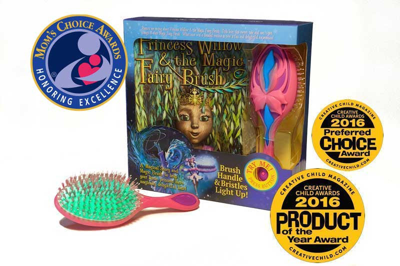 Princess Willow Book and Brush Set