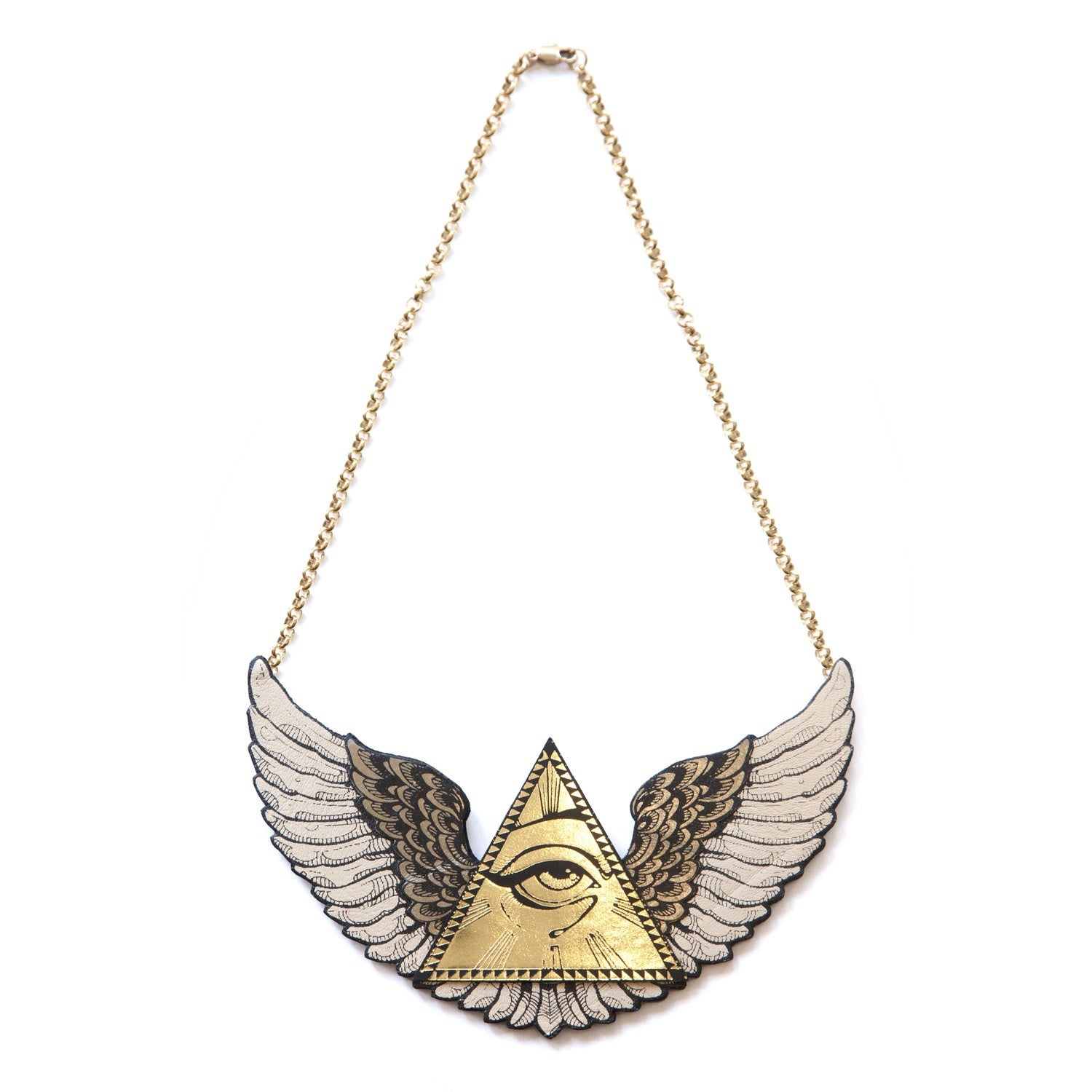 bombay halo diamond pendant winged accent necklace product jewels angel heart