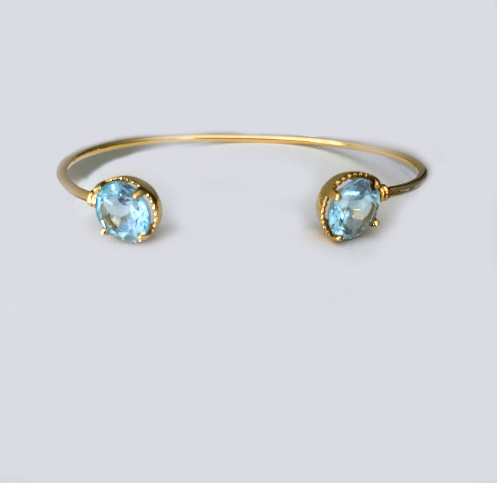 MAGIC BRACELET -RARE OCEAN Blue Topaz