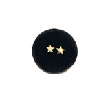 mini solid gold star studs- AVAILABLE IN YELLOW OR WHITE GOLD