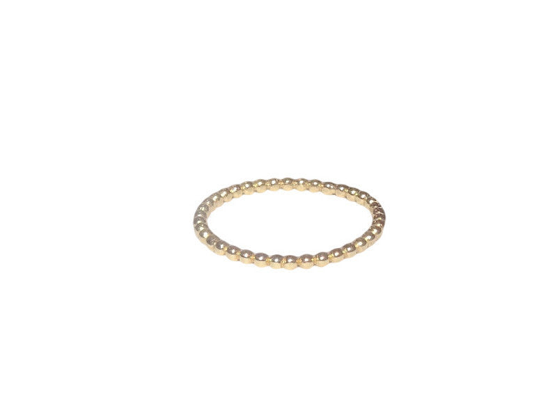 Bead It! Yellow Gold Stackable