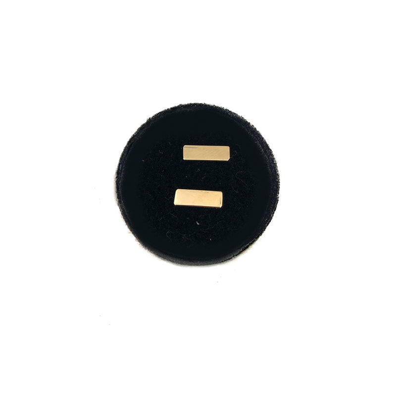 Bar Studs- Available In Solid Yellow Or White Gold