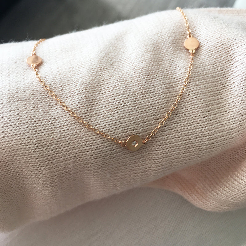 Pink Gold Cat & Signature or Friendship Necklace In Solid Gold- USA Customers- When You Receive Your Credit Card Statement You Will See That Price Will Be Approx 30% Less In USA Currency- You Will Only See This On Your Statement