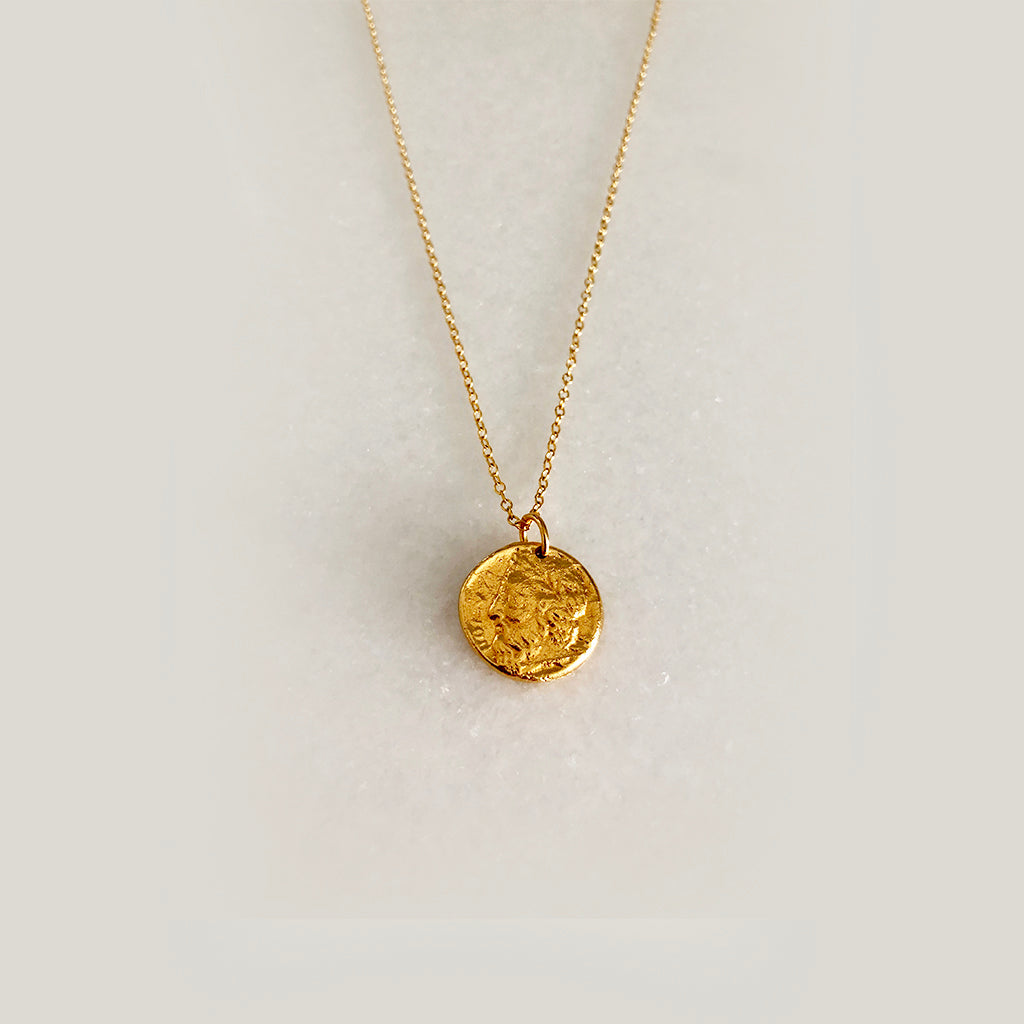 BRAND NEW COIN COLLECTION- 18K YELLOW GOLD VERMEIL
