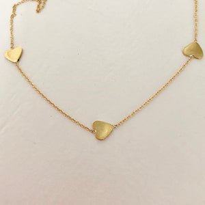 Follow Your Heart Necklace - Solid Gold