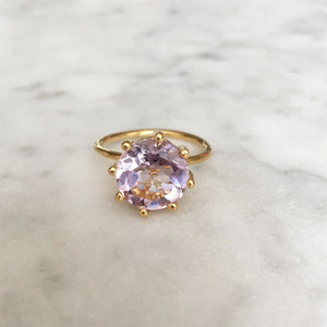 Magic Ring- Purple Amethyst