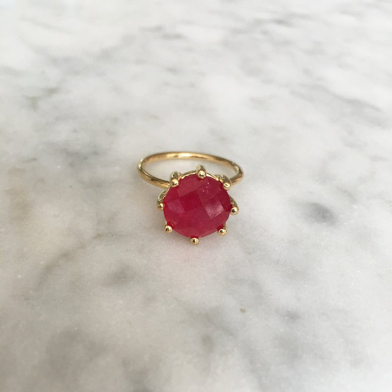 Magic ring- Red Raspberry