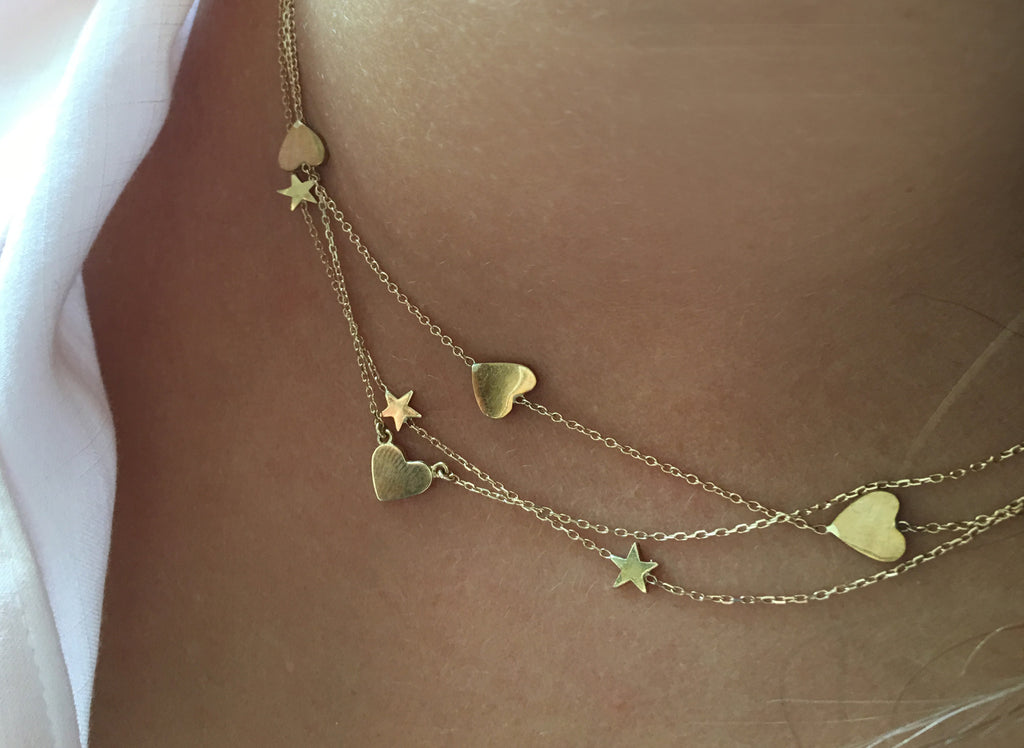 SHOP THE LOOK!       Stunning layers of gorgeousness! Hearts & Stars