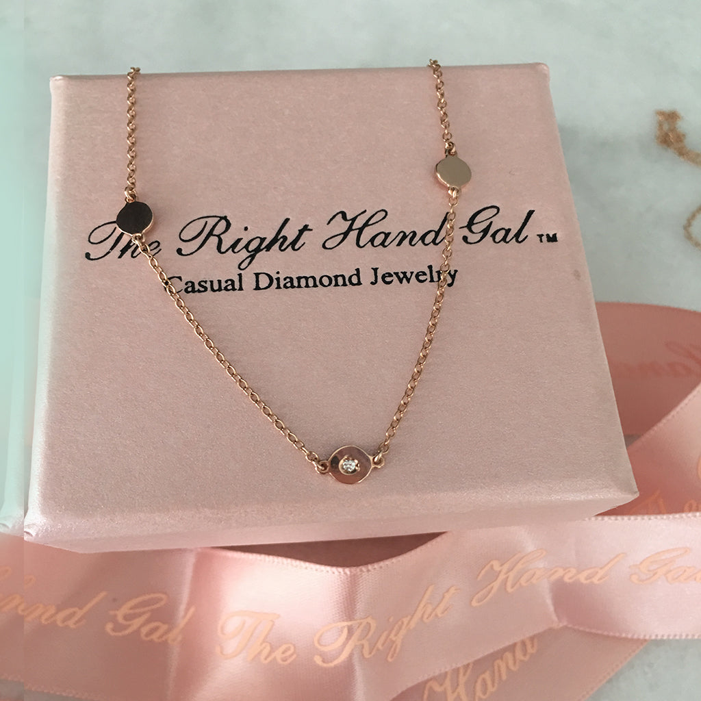 PINK GOLD CAT & NAT SIGNATURE OR  FRIENDSHIP NECKLACE.  -ATTENTION USA CUSTOMERS- WHEN YOU RECEIVE YOUR CREDIT CARD STATEMENT YOU WILL SEE THAT THE PRICE WILL BE APROX 30% LESS IN USA CURRENCY- YOU WILL NOT SEE THIS HERE - ONLY ON YOUR STATEMENT