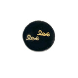 SOLID GOLD LOVE EARRINGS- AVAILABLE IN YELLOW OR WHITE GOLD