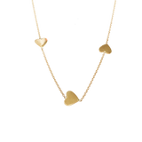 FOLLOW YOUR HEART NECKLACE! - solid gold