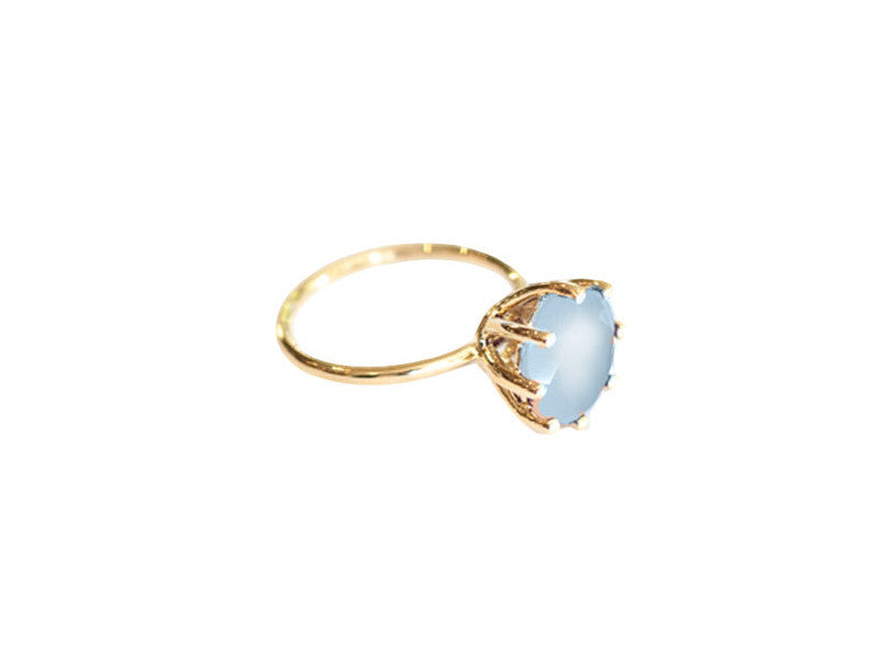 Magic Ring - Blue Chalcedony