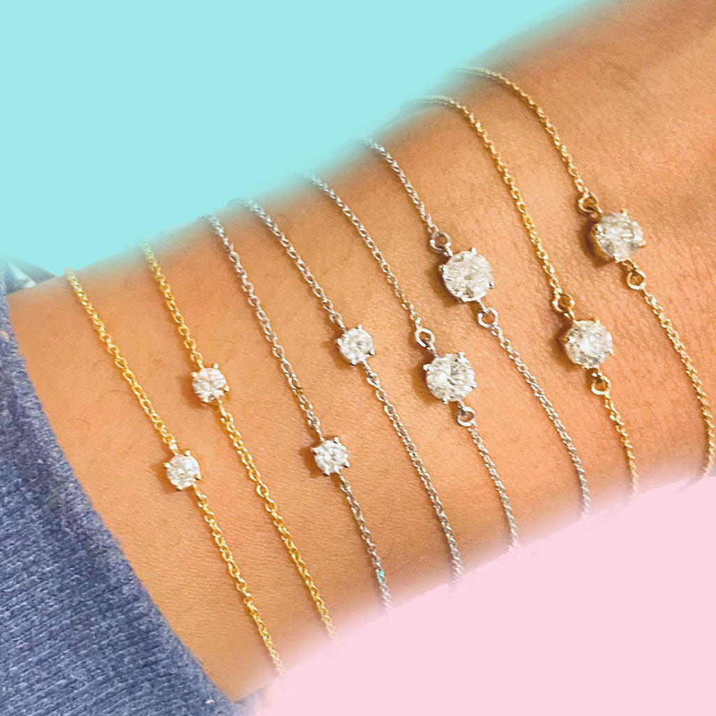 Diamond Bracelets Oh My!
