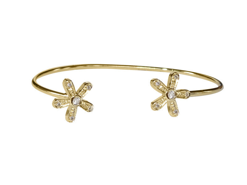 Magic Daisy Cuff- double daisy