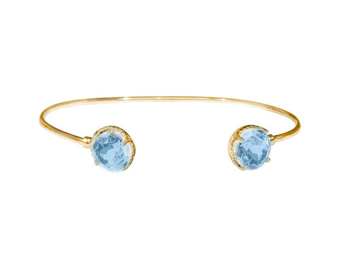 MAGIC BRACELET - Sky Blue Topaz SORRY SOLD OUT FOR NOW!