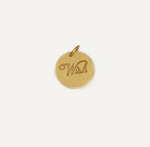 Lucky  Mini 11:11 Wish Charm In Solid Gold
