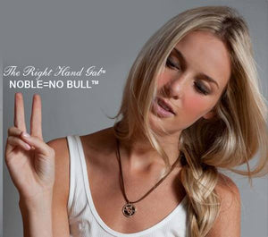 Noble = No Bull Anti-Bullying Necklace