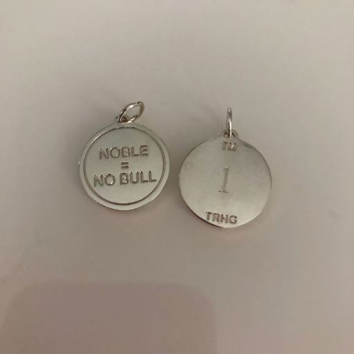 Noble = No Bull Pendant