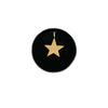 Big Star Charm In Solid Gold