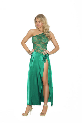 Jade Gown , Gown - Elegant Moments, Hush Hush Intimates  - 1