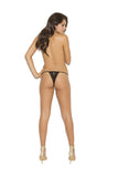 Crotchless Lace Panty , Panty - Elegant Moments, Hush Hush Intimates  - 4