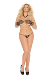 Crotchless Lace Panty , Panty - Elegant Moments, Hush Hush Intimates  - 5