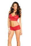 Tawny Lace Cami Set , Sets - Elegant Moments, Hush Hush Intimates  - 3