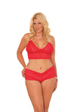 Tawny Lace Cami Set , Sets - Elegant Moments, Hush Hush Intimates  - 6