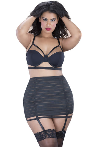 The Bandage Bra Set , Set - Oh La La Cheri, Hush Hush Intimates  - 1
