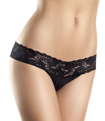 Lace V Cut, Low Rise Panties , Panty - BeWicked, Hush Hush Intimates  - 1