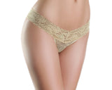 Lace V Cut, Low Rise Panties , Panty - BeWicked, Hush Hush Intimates  - 4