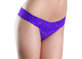 Lace V Cut, Low Rise Panties , Panty - BeWicked, Hush Hush Intimates  - 5