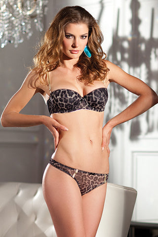 Leopard Print 2 Piece , Sets - Hush Hush Intimates, Hush Hush Intimates  - 1