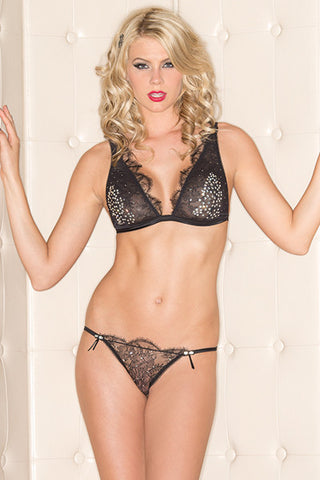 Bling Bra Set , Sets - Hush Hush Intimates, Hush Hush Intimates  - 1