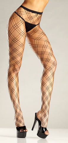 Triple Diamond Pantyhose , Hosiery - Hush Hush Intimates, Hush Hush Intimates