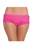 Ruffled Shorts , Panty - BeWicked, Hush Hush Intimates  - 1